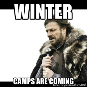 winter camps are coming