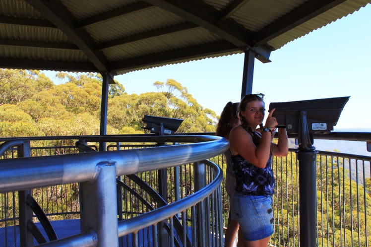 Australia fran at lookout viewer small