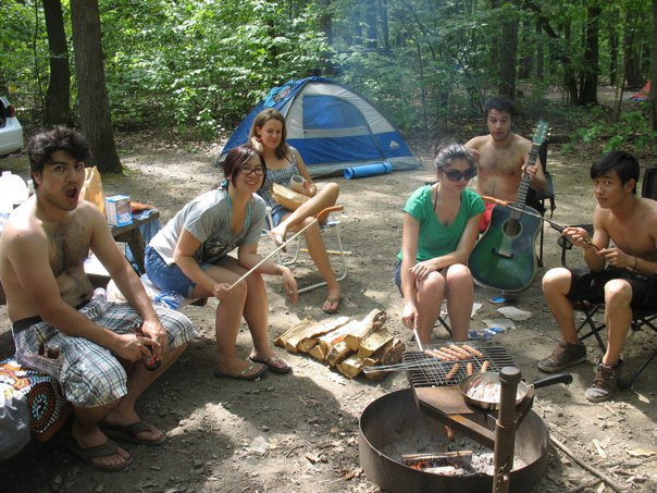 Camping trip with awesome people for when I got back from Australia, circa 2011.