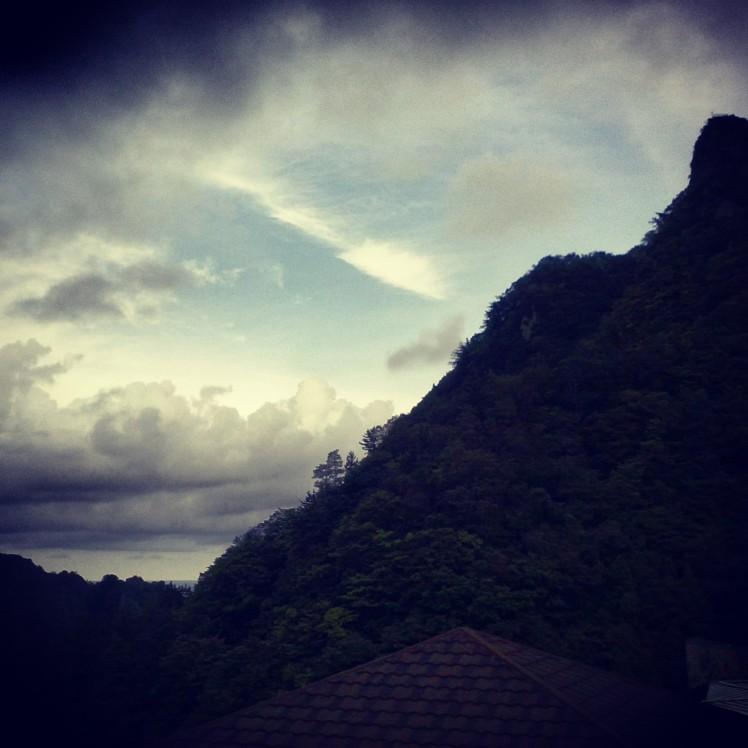 Sunset on Ulleungdo.
