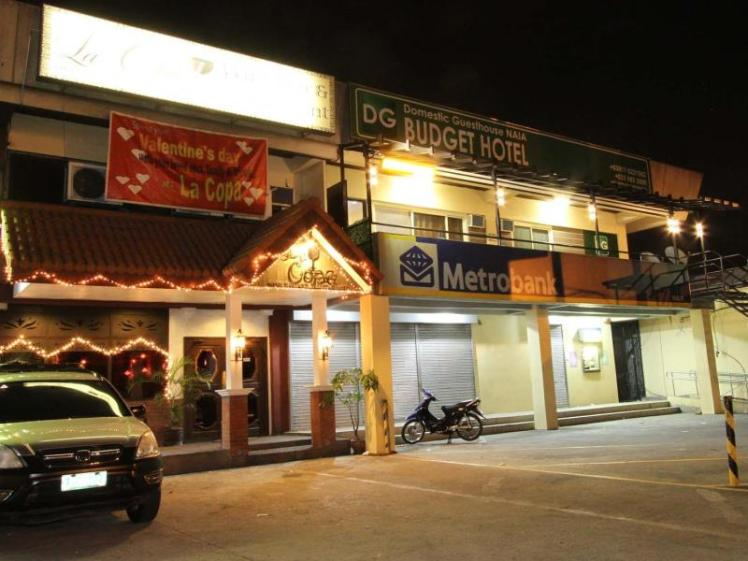 DG Budget Hotel from the outside (picture from Trip Adviser).