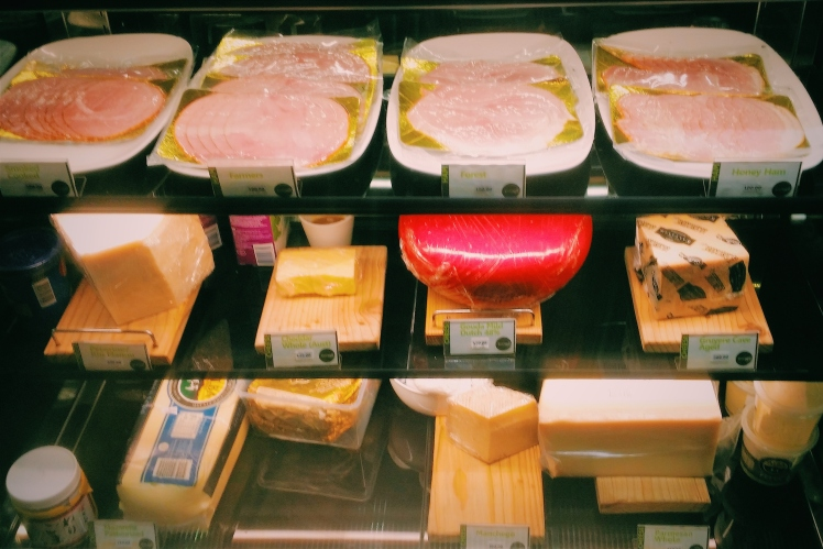 All the deli meats and cheese!