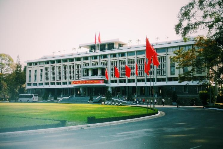 The Reunification Palace.