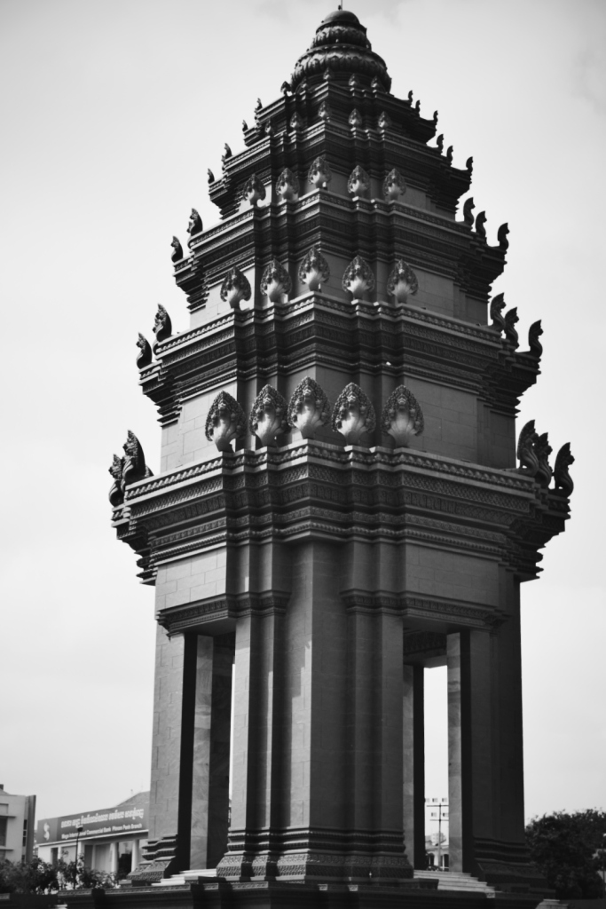 Monument of Independence, Phnom Penh.