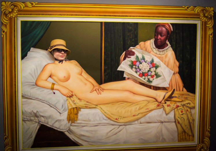 Hey, there, Manet. Proud to be a part of your art put to good use in the 21st century.