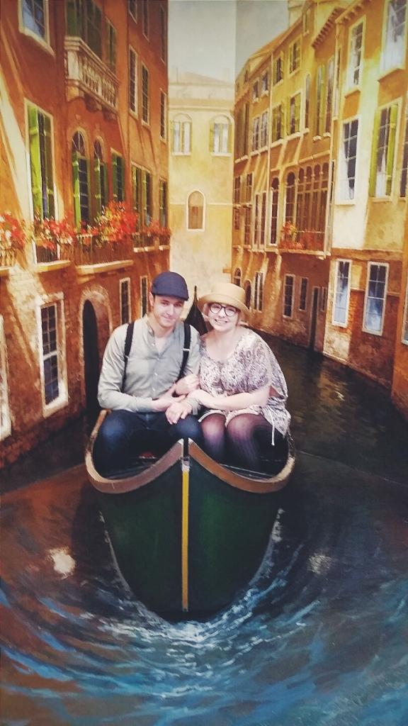 Lovely boat ride in Venice...