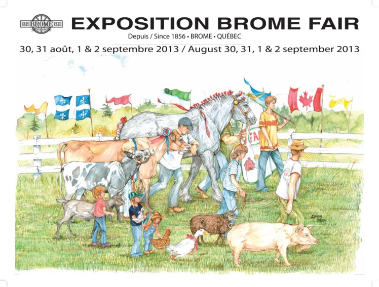 From Brome Fair Website.