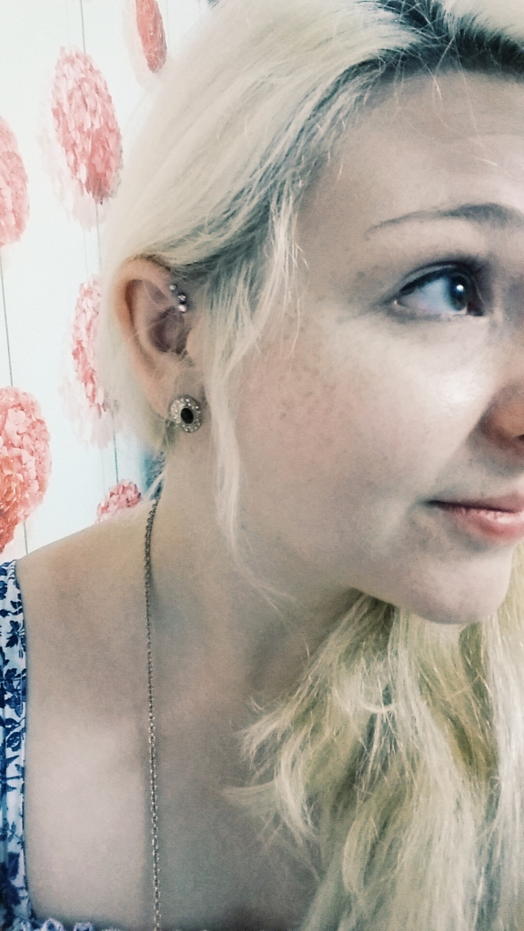 Three new piercings!!