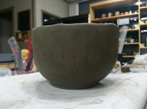 My bowl - trimmed