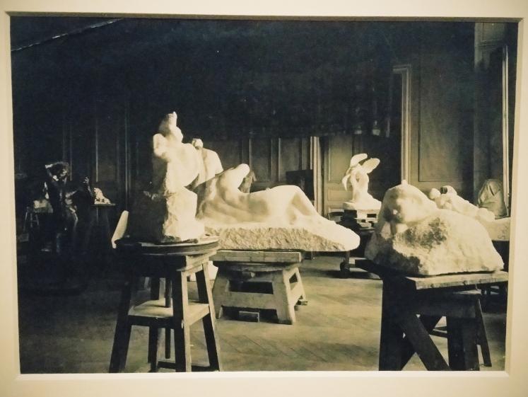 Rodin's studio.