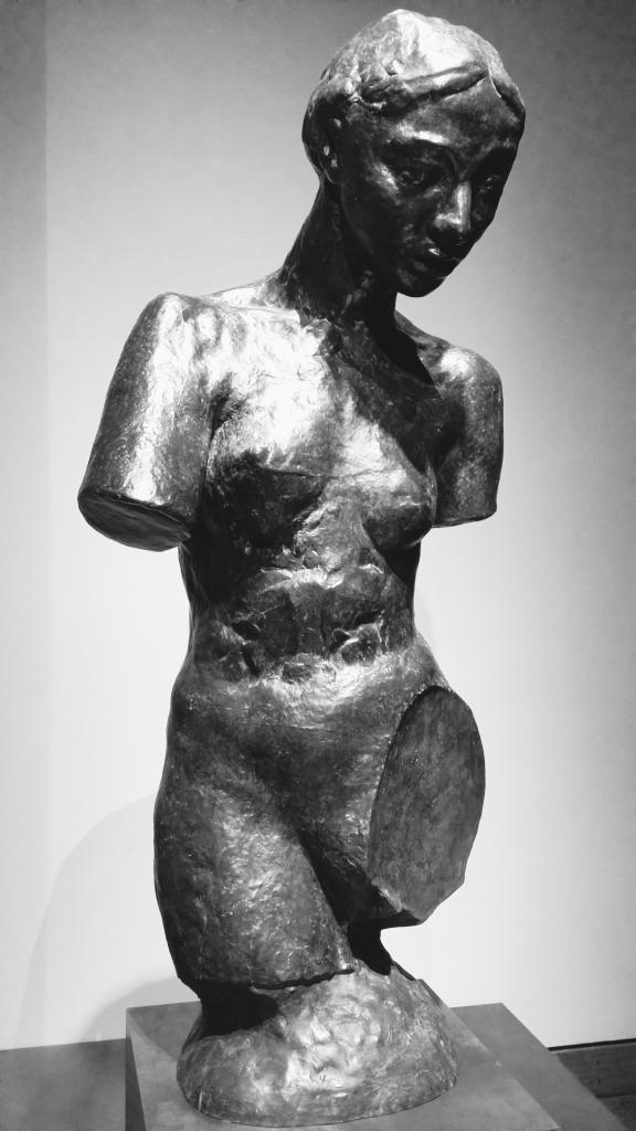 Figure of a nude.