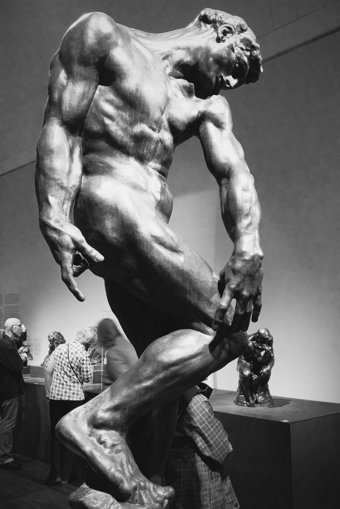 Adam, bronze.