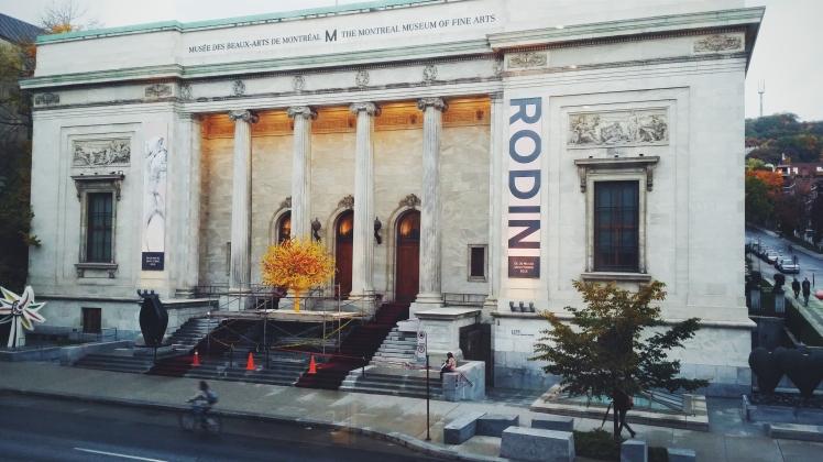 Musée des Beaux Arts de Montréal.