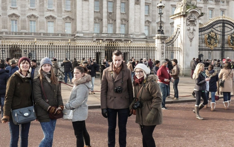2016 London January Buckingham Palace Family Portrait