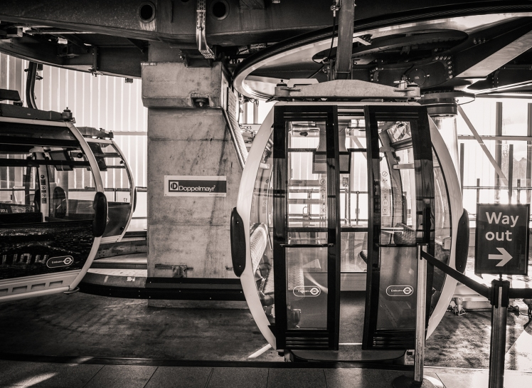 2016 London January Cable Car Ready to Hope In small