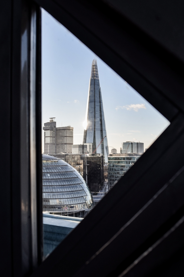 2016 London January Shard Armadillo View in Triangle small