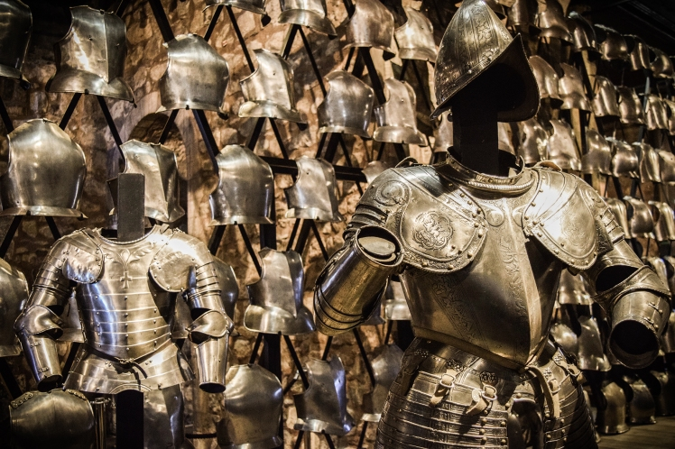 2016 London January Tower of London Armoury Armour small
