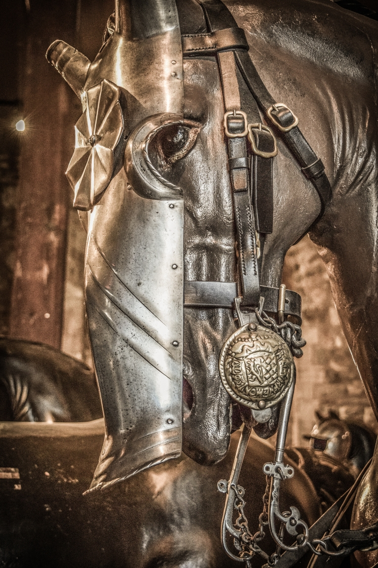 2016 London January Tower of London Horse Amour Detail small