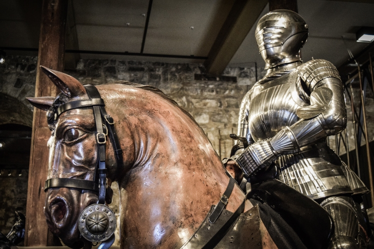 2016 London January Tower of London Horse and Knight small