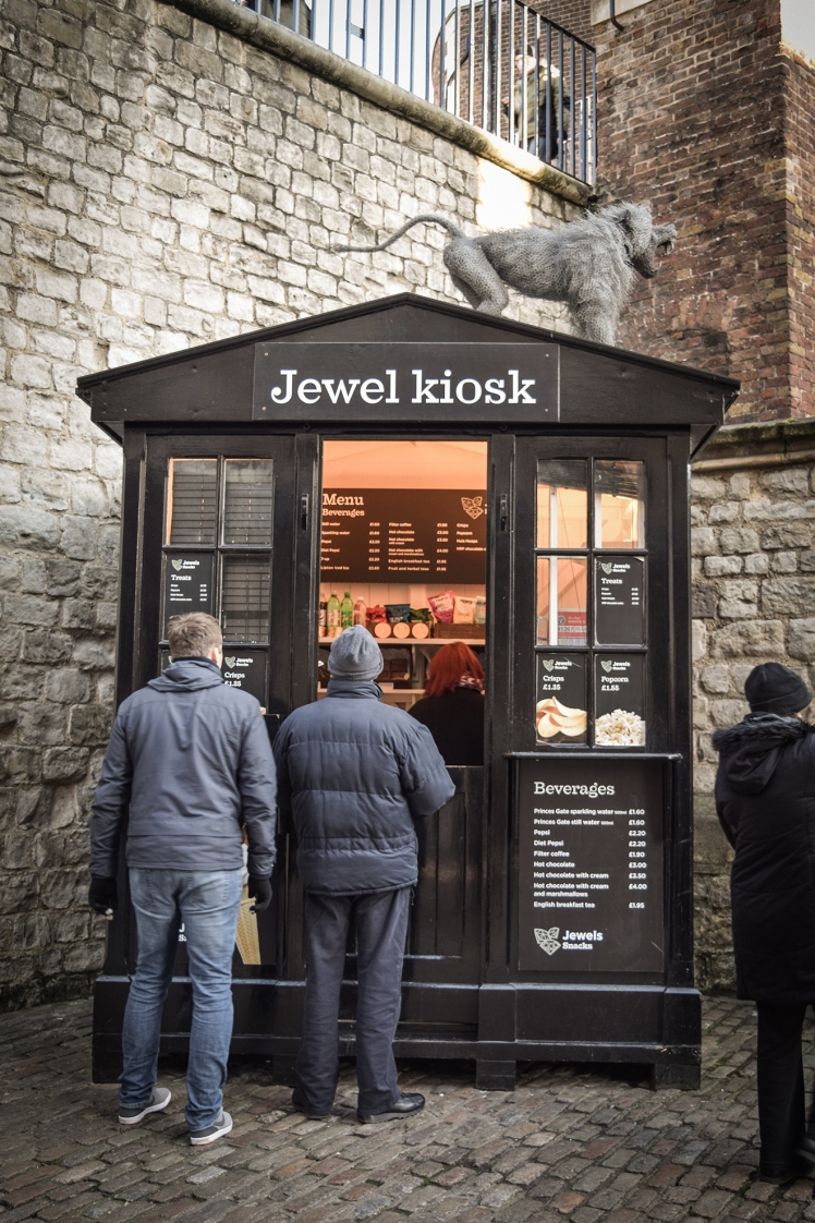 2016 London January Tower of London Jewel Kiosk small