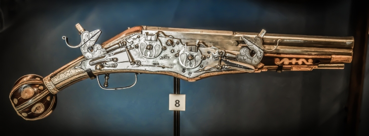 2016 London January Tower of London Steampunk Pistol small