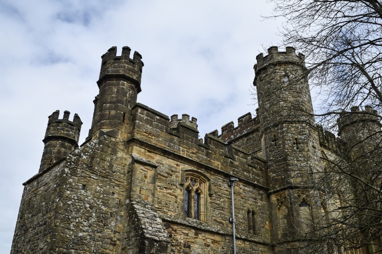 2016 Battle Abbey Abbey Turrets small