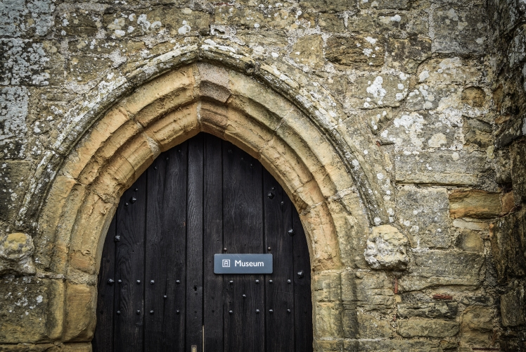 2016 Battle Abbey Museum Door small