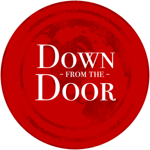 2016 Down from the Door Red Stamp Logo