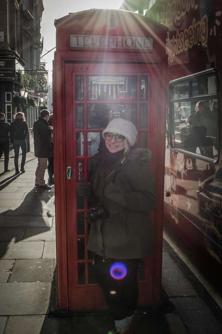 2016 January London Ricky's Photo Phone Booth Me