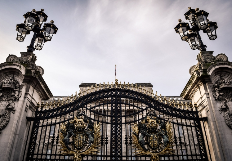2016 London January Buckingham Palace Gates small