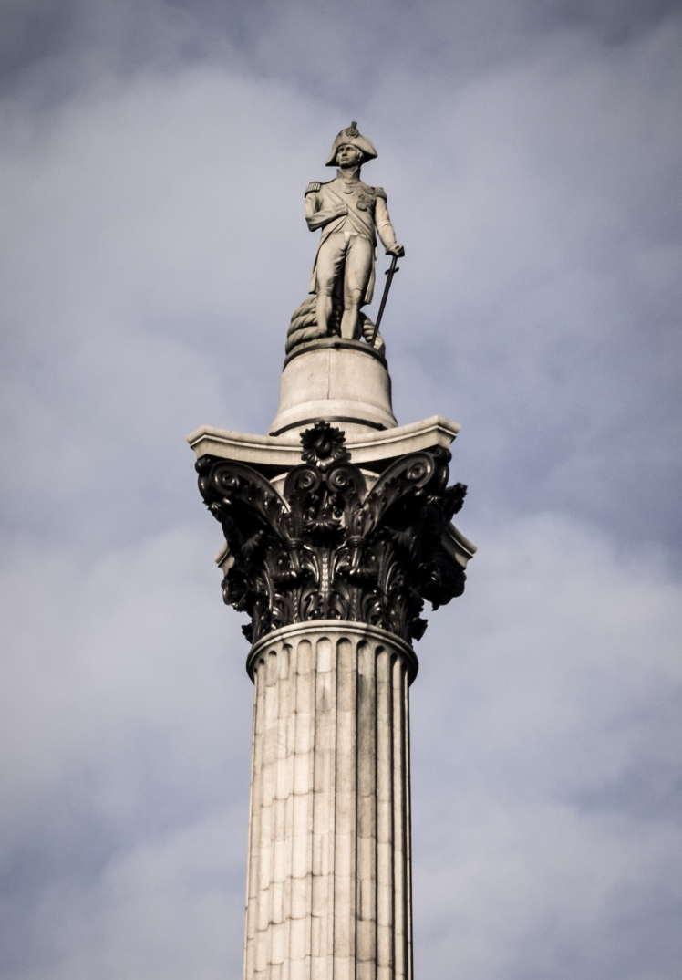 2016 London January Nelson's Column Top small