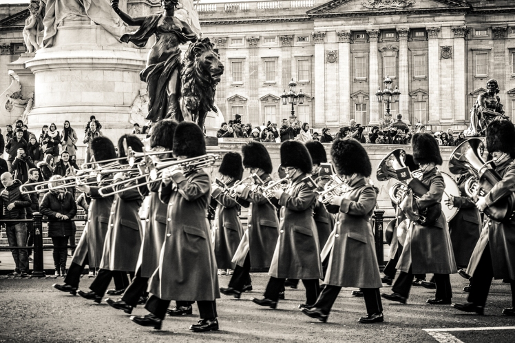 2016 London January Palace Marching Band Close Up small