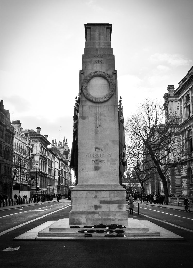 2016 London January Ricky's Photo Cenotaph