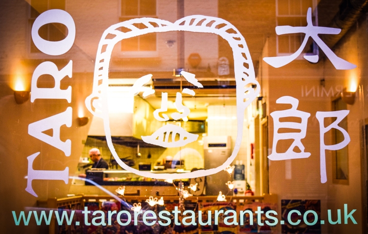2016 London January Taro Restaurant Front small