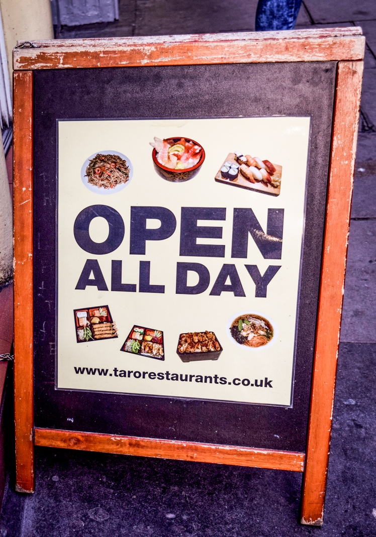 2016 London January Taro Sandwich Board small