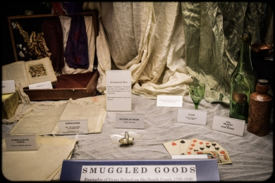 Examples of smuggled goods.