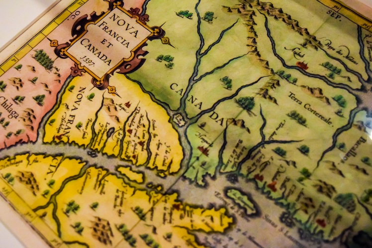 2016 Stewart Museum Nova Francia et Canada Map small