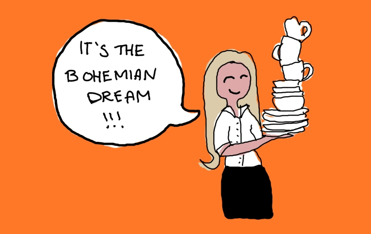 2016 Down from the Door Bohemian Dream Waitress