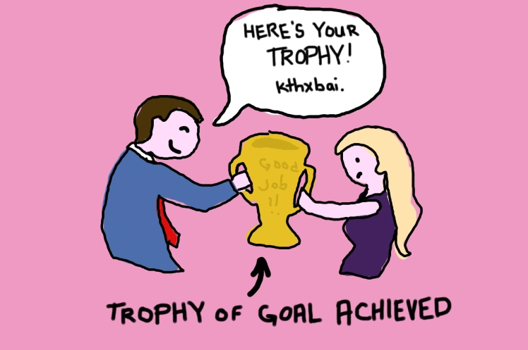 2016 Down from the Door Trophy of Goal Achieved