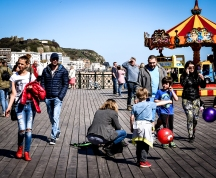 2016 Jack in the Green Kids on Pier With Balloons small