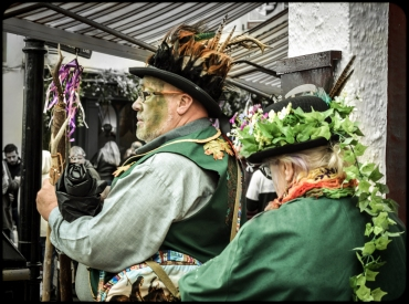 2016 Jack in the Green Older Pagan Couple small