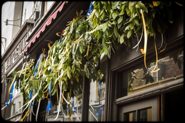 2016 Jack in the Green Ribbons and Boughs Under Awning small